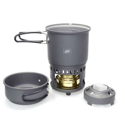 photo: Esbit Hard Anodized Aluminum 985 ml Cookset