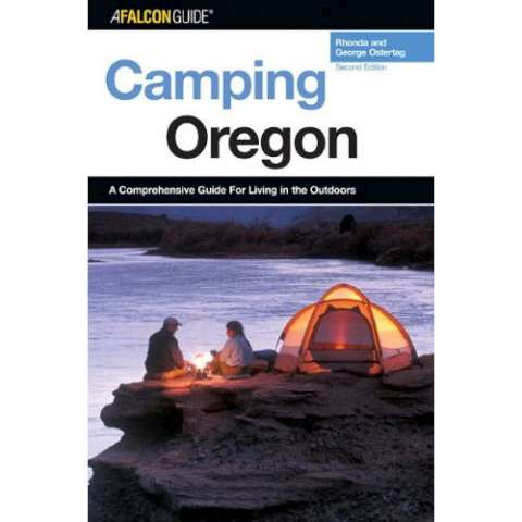 photo: Falcon Guides Camping Oregon us pacific states guidebook