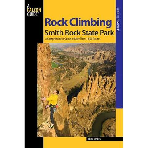 photo: Falcon Guides Rock Climbing Smith Rock State Park us pacific states guidebook