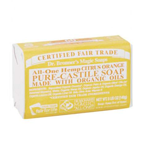 photo: Dr. Bronner Eucalyptus Organic Bar Soap