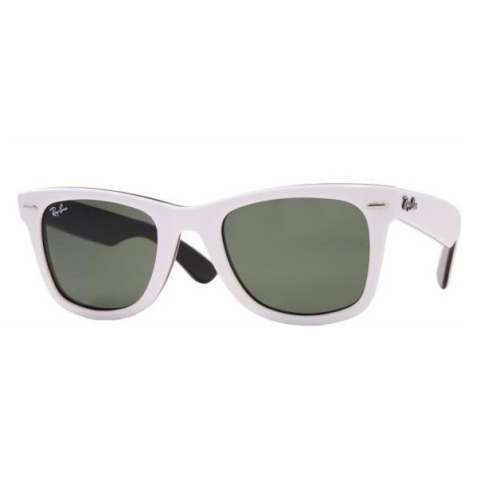 ray ban sunglasses white frame. Ray-Ban Wayfarer Sunglasses