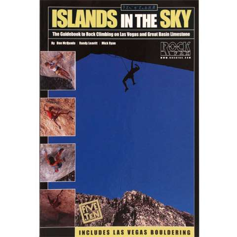 photo: RockFax Islands in the Sky - Guidebook to Rock Climbing on Las Vegas and Great Basin Limestone us mountain states guidebook