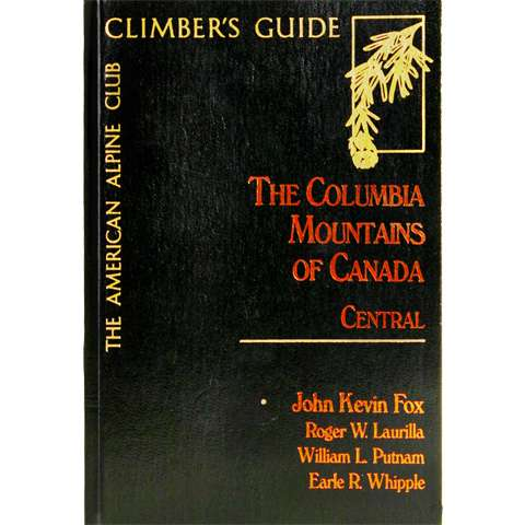 photo: American Alpine Club The Columbia Mountains of Canada - Central canadian guidebook