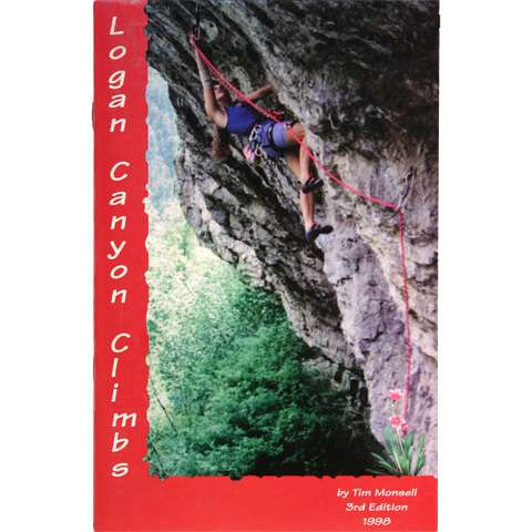 photo: Primrose Publishing Logan Canyon Climbs us mountain states guidebook