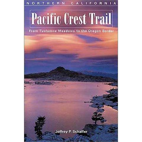 Wilderness Press Pacific Crest Trail Northern California