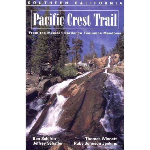 Wilderness Press Pacific Crest Trail Southern California