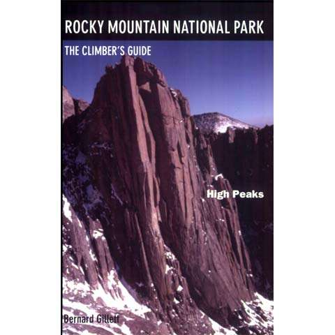 photo: Earthbound Sports Rocky Mountain National Park, the Climber's Guide - High Peaks us mountain states guidebook
