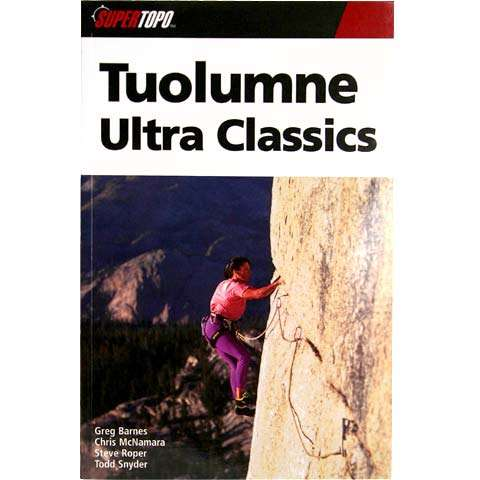 photo: SuperTopo Tuolumne Ultra Classics us pacific states guidebook