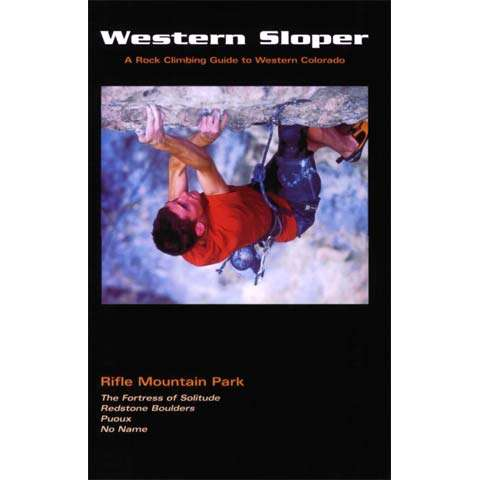 photo: Wolverine Publishing Western Sloper - Rifle Mountain Park us mountain states guidebook