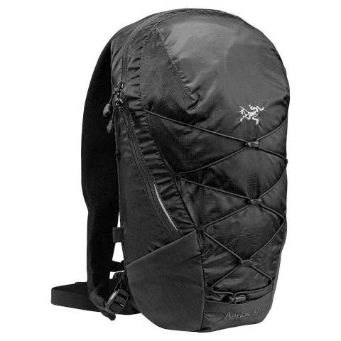 photo: Arc'teryx Aerios 10 daypack (under 2,000 cu in)