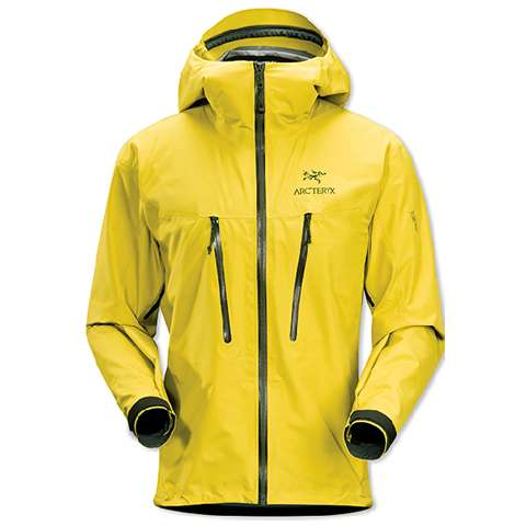 photo: Arc'teryx Alpha LT Jacket waterproof jacket