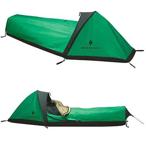 photo of a Bibler bivy sack