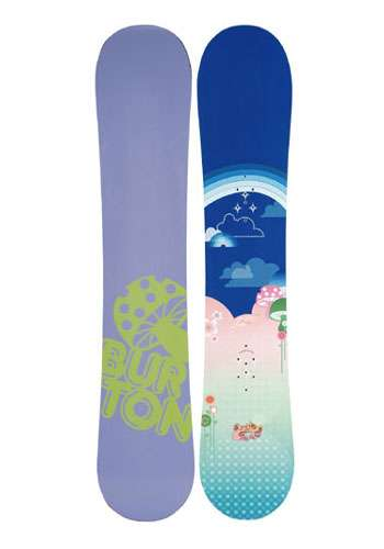 Burton Girls Punch Snowboard - 05 - Closeout