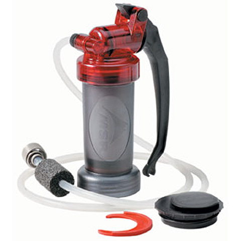 photo: MSR MiniWorks pump/gravity water filter