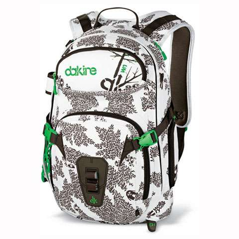 photo: DaKine Team Heli Pro DLX 20L winter pack