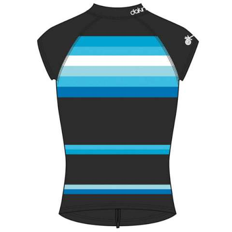 photo: DaKine Tidal Cap Sleeve Rashguard short sleeve rashguard