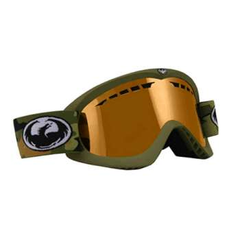 Dragon DX Goggle Army Green/Amber - Closeout - 06