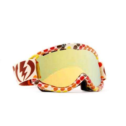 Electric EG 1S Goggles - Pixel Orange / Gold Chrome - Electric Goggles