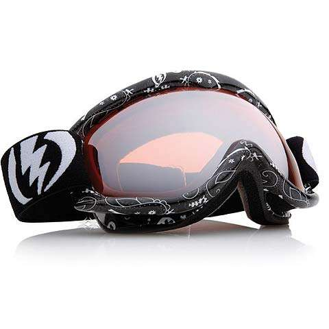 Electric EG 1S Goggles - Bandana Black / Silver Chrome - Free Lens - Electric Goggles