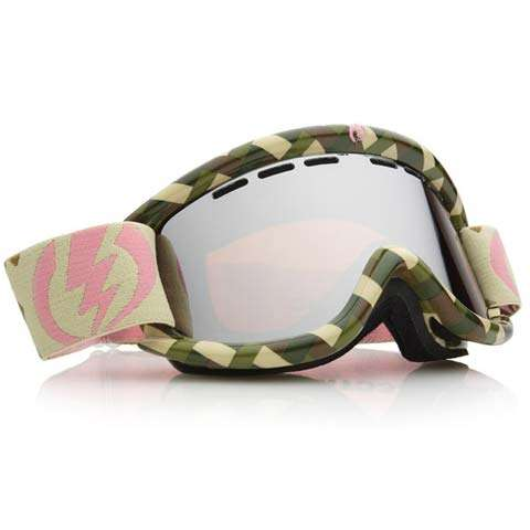 Electric EG.5 Goggles - Green Stache / Silver Chrome - Electric Goggles