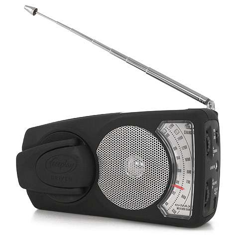 photo: Freeplay EyeMax Radio and Flashlight radio