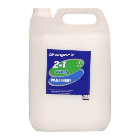 photo: Granger's 2 in 1 Cleans/Waterproofs fabric cleaner/treatment