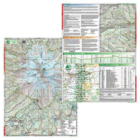 Green Trails Maps Mount Hood Map