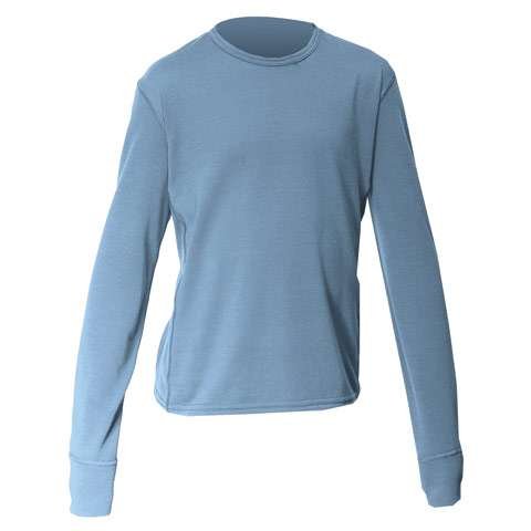 photo: Hot Chillys Midweight Banded Crew base layer top