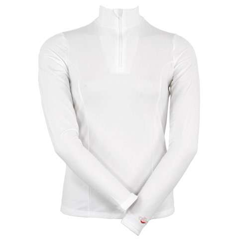 photo: Hot Chillys Micro-Elite Brushed Zip T base layer top