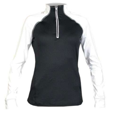 photo: Hot Chillys Micro-Elite Chamois Escape Zip-T long sleeve performance top