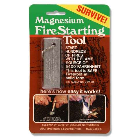 photo: Doan Magnesium Fire Starting Tool fire starter