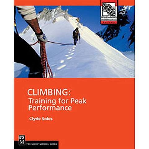 photo: The Mountaineers Books Climbing: Training for Peak Performance climbing book