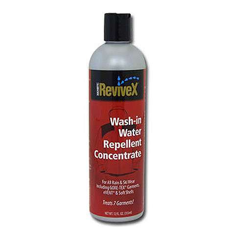 photo: ReviveX Wash-In Water Repellent Concentrate fabric cleaner/treatment