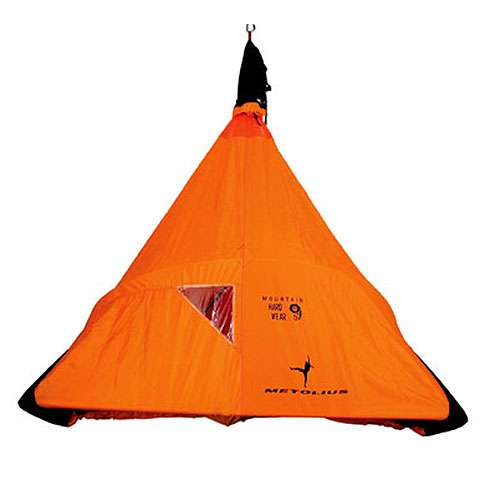 photo: Metolius Bomb Shelter Double Fly portaledge