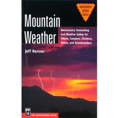photo: The Mountaineers Books Mountain Weather first aid/safety/survival book