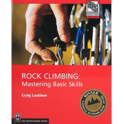 photo: The Mountaineers Books Rock Climbing: Mastering Basic Skills climbing book