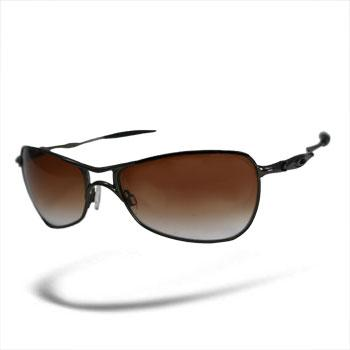 Oakley Crosshair Black Chrome / Brown