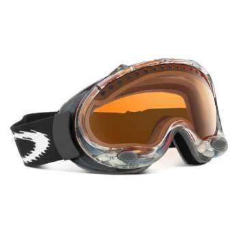 Oakley A Frame Snow - Clear / Persimmon Lens
