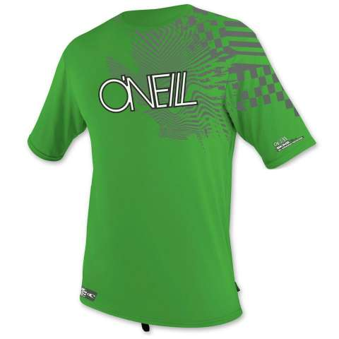 photo: O'Neill Skins Graphic S/S Crew short sleeve rashguard
