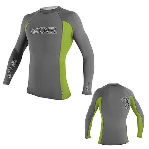 photo: O'Neill Women's Skins L/S Crew long sleeve rashguard
