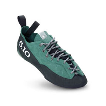 photo: Five Ten Sapphire climbing shoe