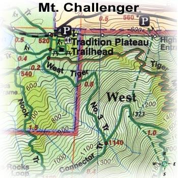 Green Trails Maps Mt Challenger