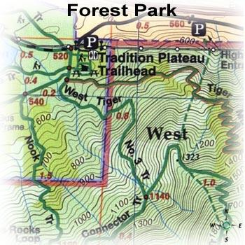 Green Trails Maps Forest Park