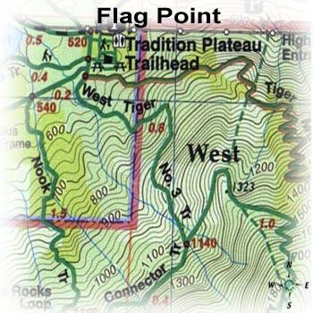 Green Trails Maps Flag Point Oregon Map