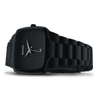 Nixon Small Player - All Black - Watches - Casual Watches - Womens