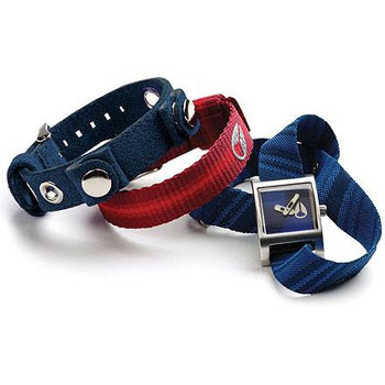 Nixon Glamstar Watch Collection - Navy / Royal / Red