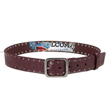 Volcom Magnificent Seven Studded Leather Belt