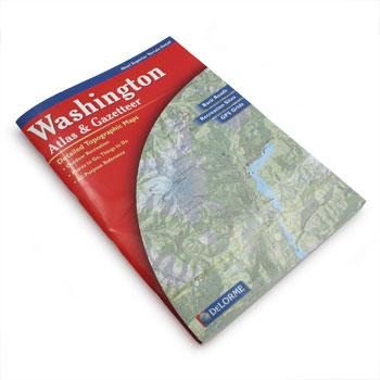 Alpen Books Atlas and Gazetteer - Washington
