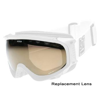 Spy Soldier Goggle Lens - Persimons Silver