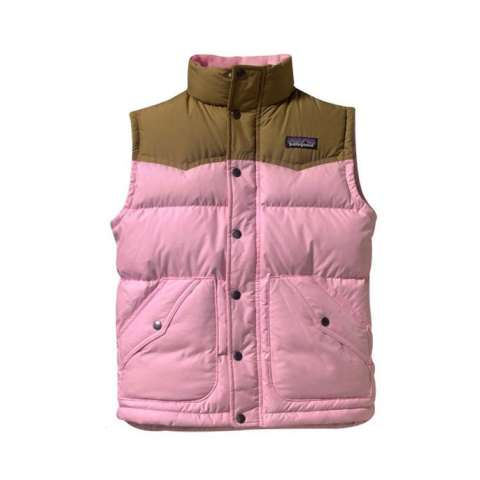 photo: Patagonia Kids' Down Vest down insulated vest